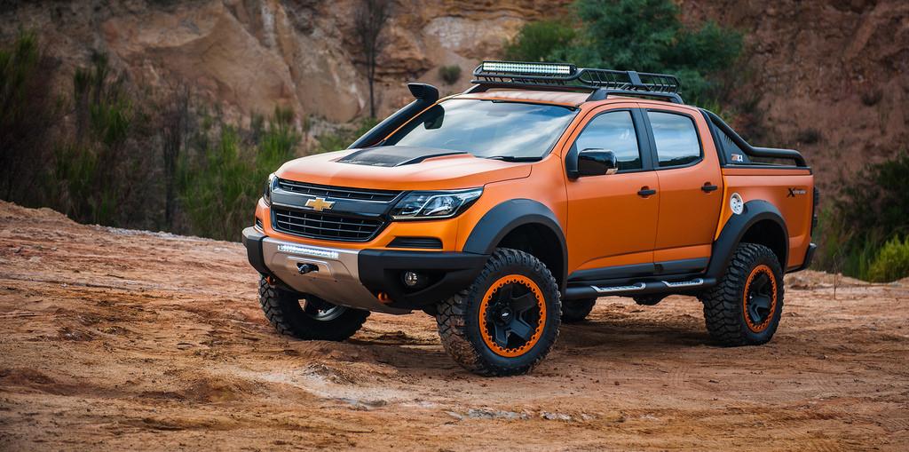 Chevrolet Colorado Xtreme รถกระบะต้นแบบ แต่งเอาใจชาวออฟโรด