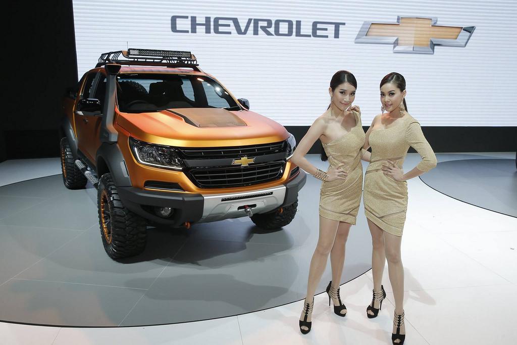 เยี่ยมบูธ Chevrolet ในงาน Motor Show 2016 ชมรถยนต์ต้นแบบ Colorado Xtreme และ Trailblazer Premier