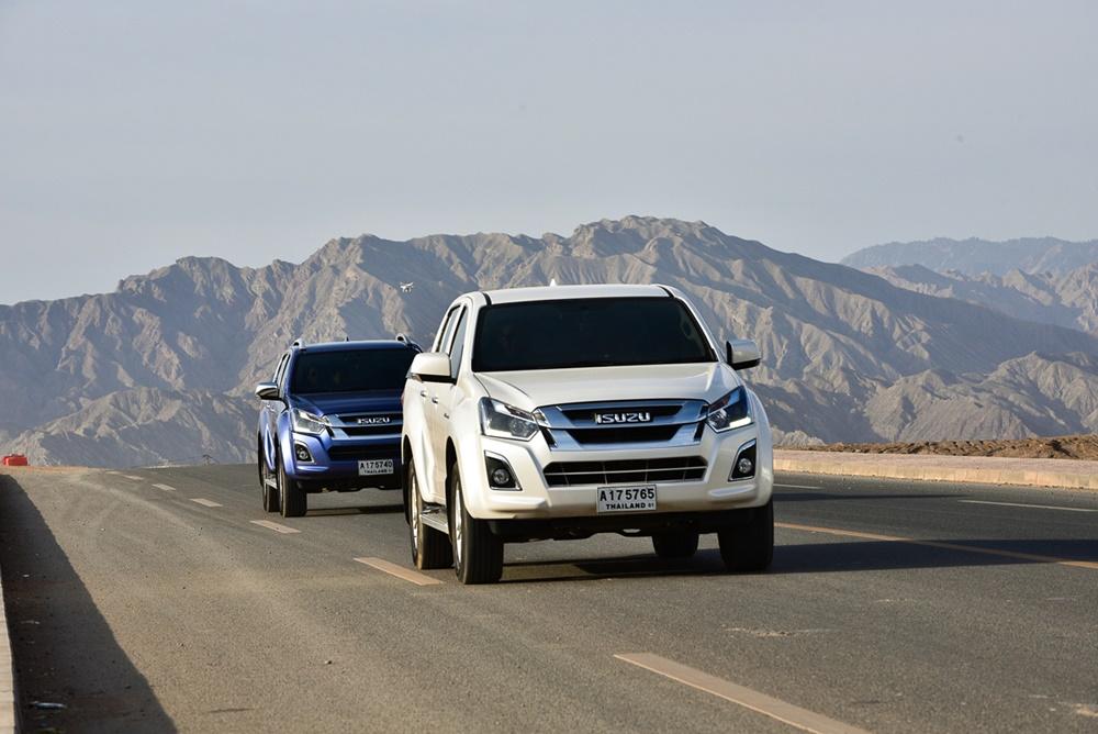 ISUZU D-MAX 1.9 Ddi Blue Power กับการพิสูจน์ความแข็งแกร่ง วิ่ง 5,755 กิโลเมตรไม่ดับเครื่อง