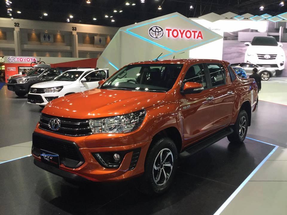 Toyota Hilux Revo TRD Sportivo ตัวจริงมาแล้ว… ในงาน Motor Show 2016