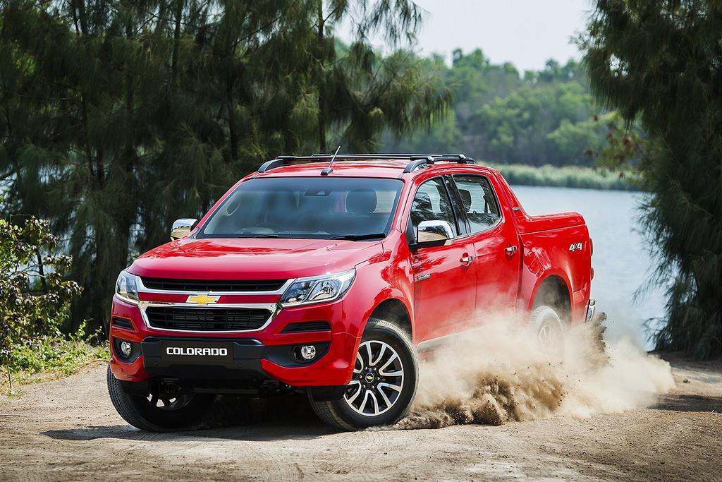 Chevrolet Colorado 2017 เปิดตัวในเมืองไทยอย่างเป็นทางการแล้ว