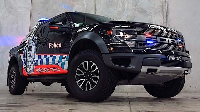 Ford F-150 Raptor รถสำหรับใช้ออกปฏิบัติการ ของตำรวจออสเตรเลีย