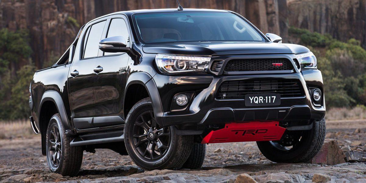 โตโยต้าออสเตรเลีย เปิดตัวรถกระบะพร้อมชุดแต่งพิเศษ Toyota Hilux TRD ออกมากระตุ้นยอดขาย