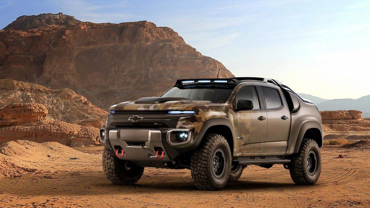 Chevrolet Colorado ZH2 รถกระบะพลังงานทางเลือก ใช้เป็นรถออกปฏิบัติการของกองทัพบกสหรัฐฯ