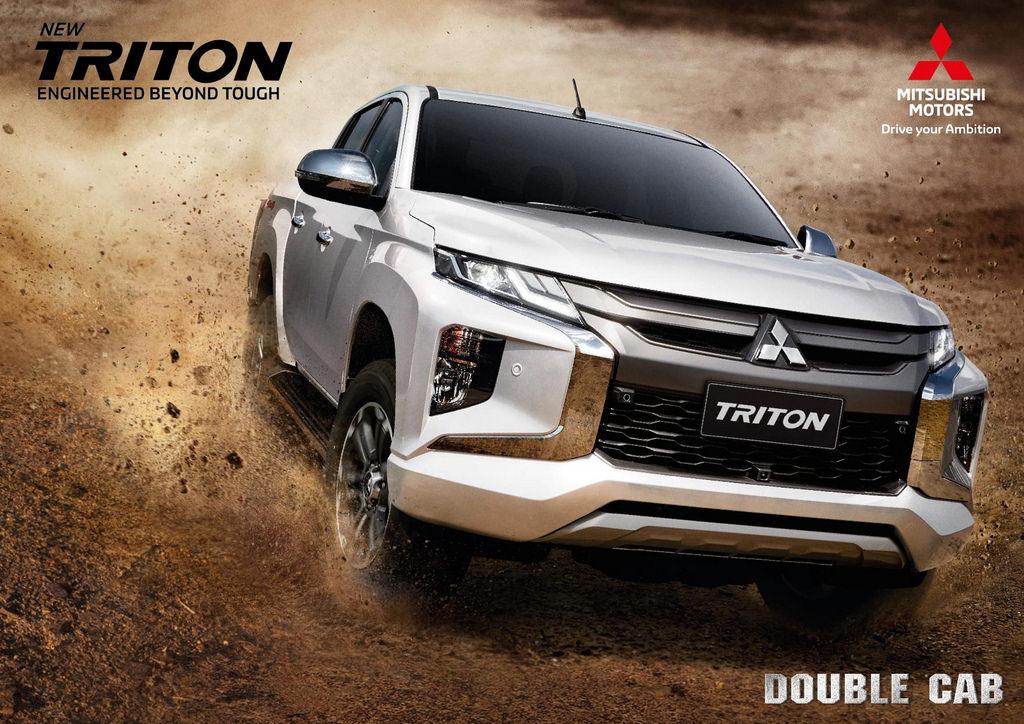 Mitsubishi Triton โฉมใหม่ ประกาศราคาแล้ว ตัวท๊อป 1,099,000 บาท