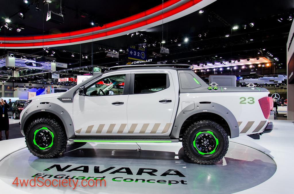 Navara EnGuard Concept รถยนต์กู้ภัยอัจฉริยะ รถกระบะสมรรถนะสูง