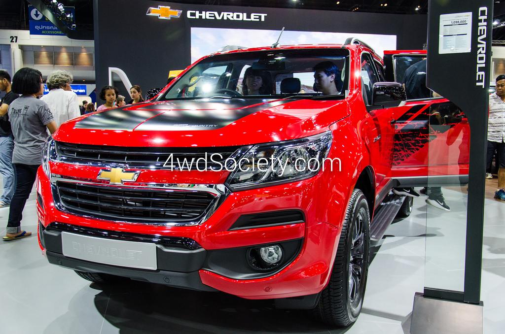 Chevrolet Colorado High Country Storm โฉมใหม่ รถกระบะหรูหรา ที่ดุดันยิ่งกว่าเดิม
