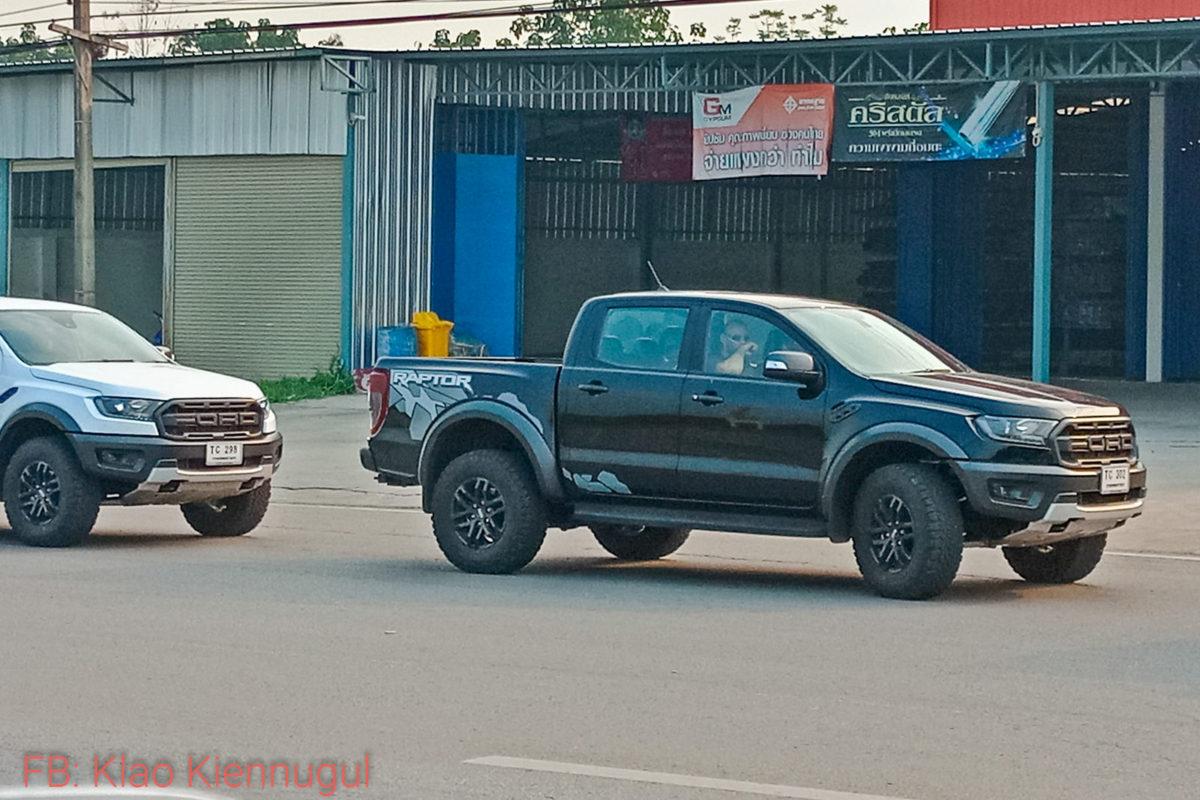 Ford Ranger Raptor ออกวิ่งทดสอบสมรรถนะก่อนวางขายจริง