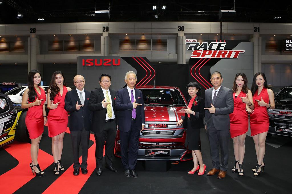 "ISUZU นำรถยนต์สายพันธุ์สปอร์ตสุดจี๊ด! 7 รุ่น มาจัดแสดงในงาน ""ออโต ซาลอน 2018"""